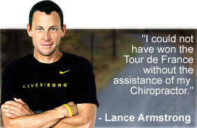 Lance Armstrong - Do Chiropractors work