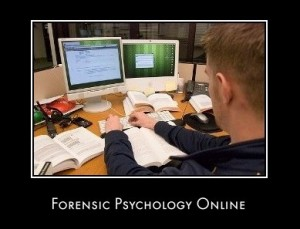 Forensic online psychology degree